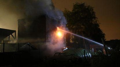 Atelier hobbygaragist volledig verwoest na brand