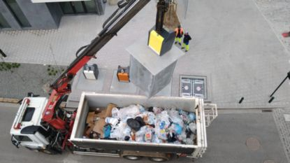 Gesorteerd afval in Tivoliwijk wordt toch samen gegooid
