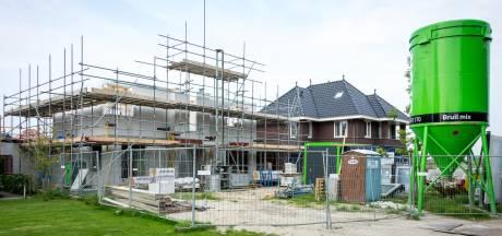 Nieuwbouw huurhuizen staat stil