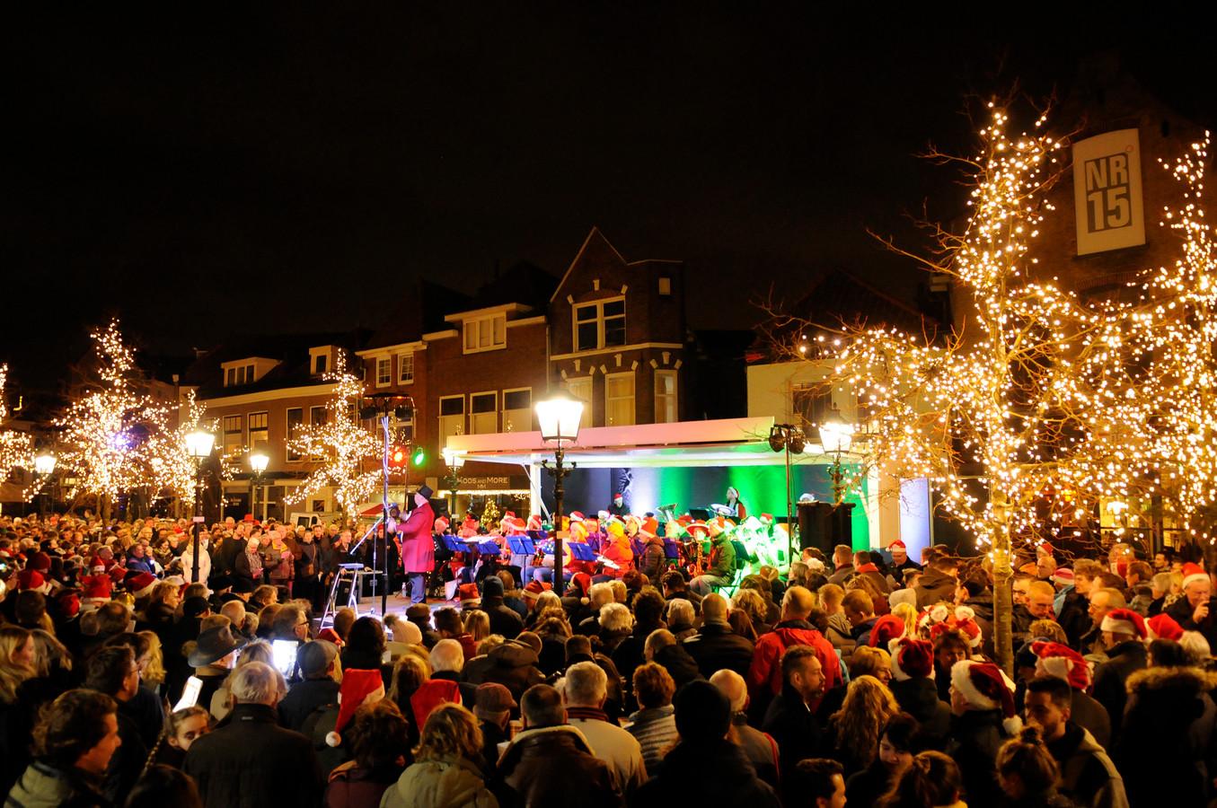 Het Kerstnachtzingen in Maassluis