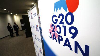 G20: economische groei leeft volgend jaar op tenzij internationale handelsspanningen dat dwarsbomen