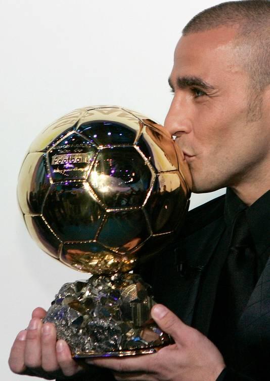 Fabio Cannavaro, de laatste verdediger die de Gouden Bal won.