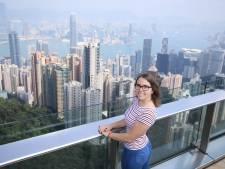 Carlijn, studente in Tilburg, vluchtte uit Hongkong: 'Het geweld kwam tot in mijn straat'