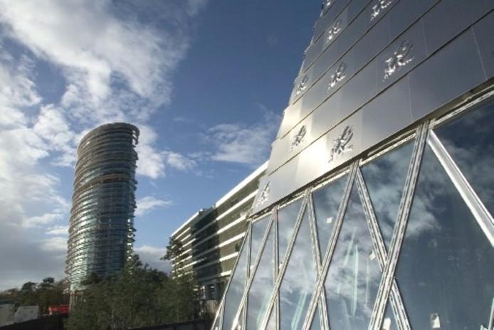 De belastingtoren is winnaar geworden van de Architectuurprijs Apeldoorn 2005 (Foto: Cees Baars)