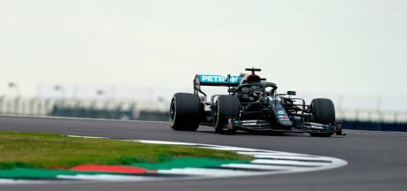 Hamilton le plus rapide lors de la deuxième séance d'essais libres à Silverstone