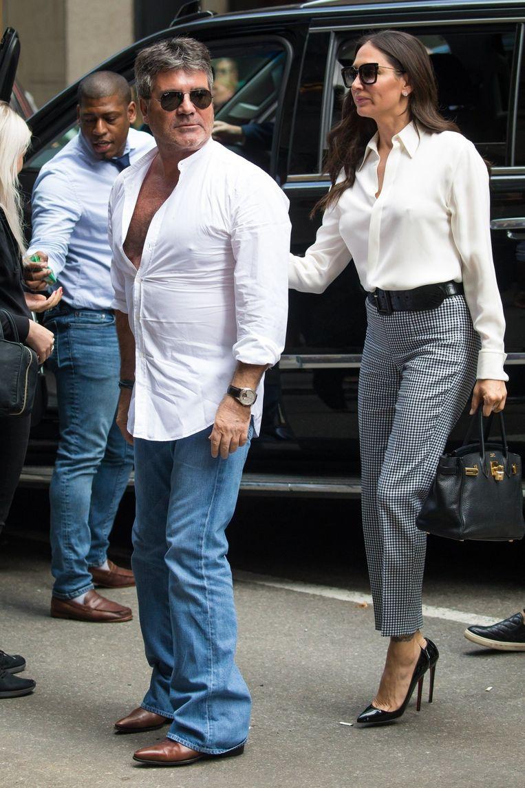 Simon Cowell en Lauren Silverman.