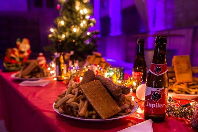 Kerstdiner in stijl te Tilburg.