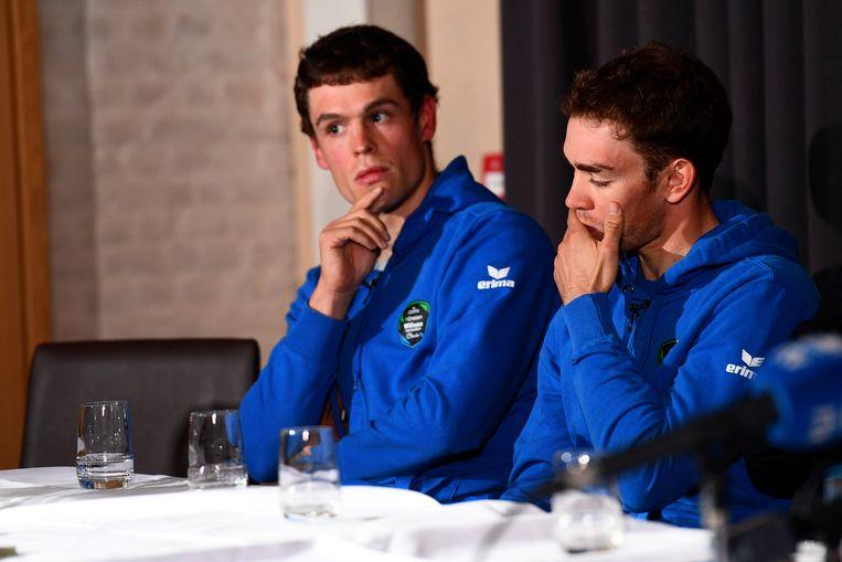 Stijn Steels en Sean De Bie.