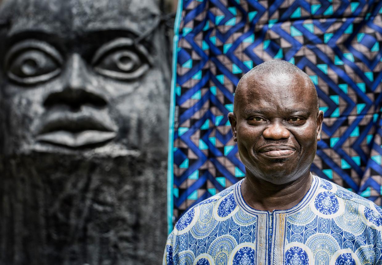 Benson Osadolor. Hoogleraar geschiedenis aan de universiteit van Benin City en specialist militaire geschiedenis Beninrijk.