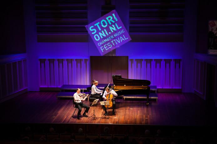 Het Storioni Trio op het Storioni festival (archieffoto).