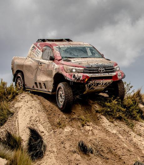Unieke prestatie Ten Brinke met winst etappe in autorace Dakar