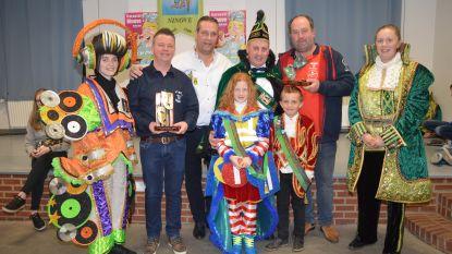 Wisselbekers uitgereikt aan winnaars carnavalsstoet