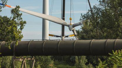 Oudste windturbine van Gent verhuist naar Italië