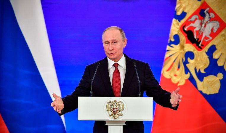 De Russische president Vladimir Poetin moet de wet nog bekrachtigen.