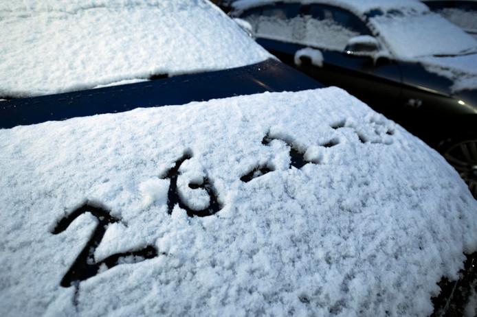 toch sneeuw in tilburg