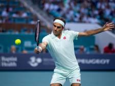 Federer door naar laatste zestien in Miami
