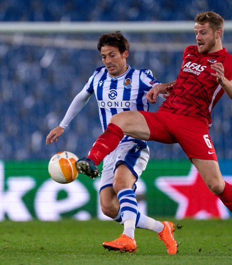 AZ hoeft in return tegen Real Sociedad niet te vrezen voor David Silva