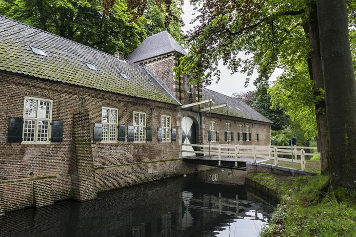 Het poortgebouw van het kasteel in Gemert. foto Kasteel Gemert