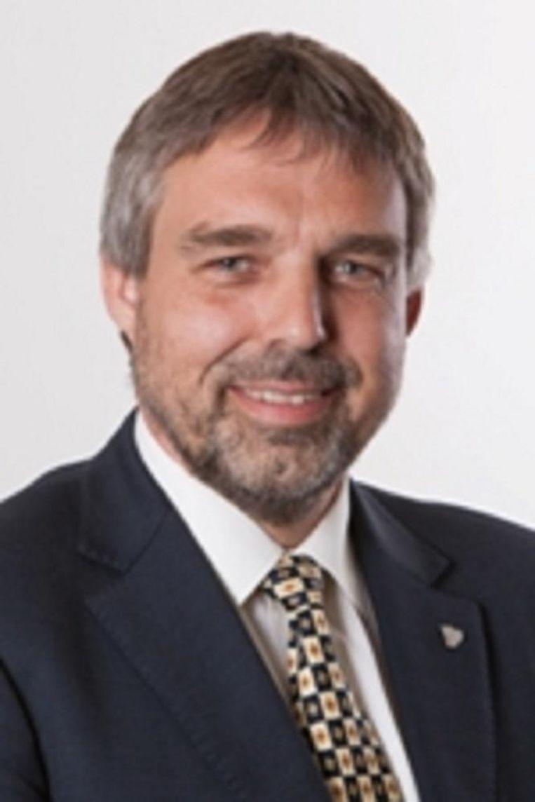 Jaap Uijthof, fractievoorzitter VVD. Beeld