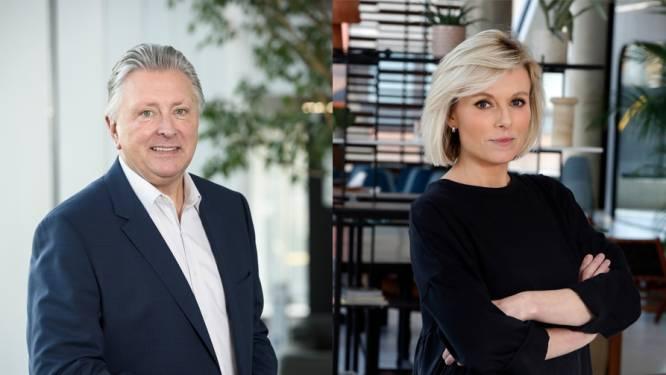Cathérine en Dany verdelen weekend van 'VTM Nieuws'