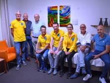 Gift van Enter Roparun-feest voor hospice Reggestroom in Rijssen
