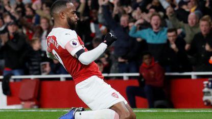 Lacazette bezorgt Arsenal in slotfase met klasseflits gelijkspel, Liverpool voorlopig op kop