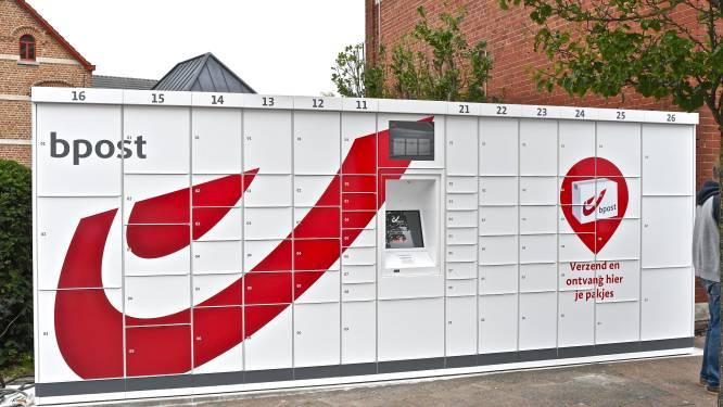 Enquête gestart naar vraag pakjesautomaat Bpost