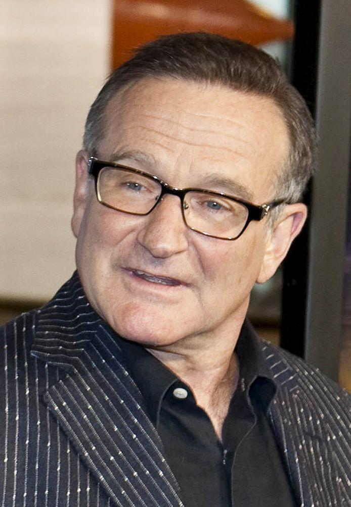Robin Williams pleegde vorig jaar zelfmoord.