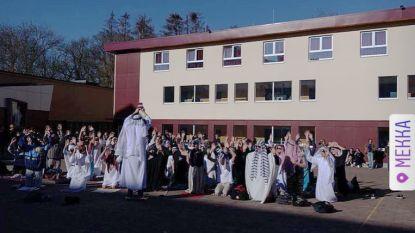 VIDEO. Ophef over islamparodie voor 100 dagenviering op College Paters Jozefieten in Melle
