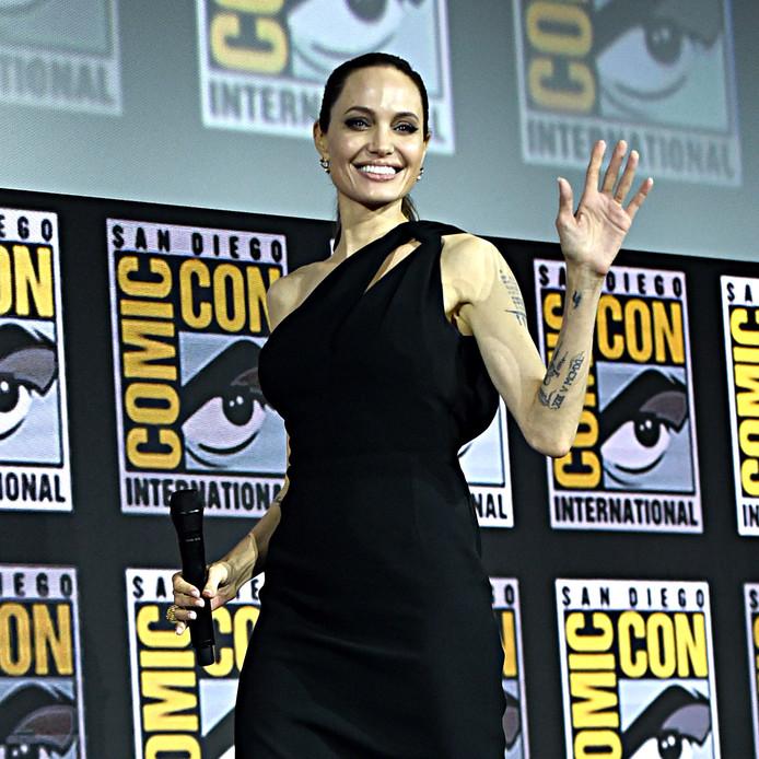 Angelina Jolie speelt de rol van Thena in The Eternals.
