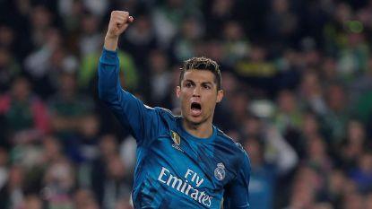 MULTILIVE buitenland: Real Madrid na doelpuntenfestival in tweede helft op en over Betis