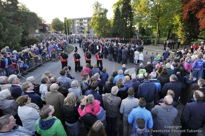 Herdenking in Rijssen.