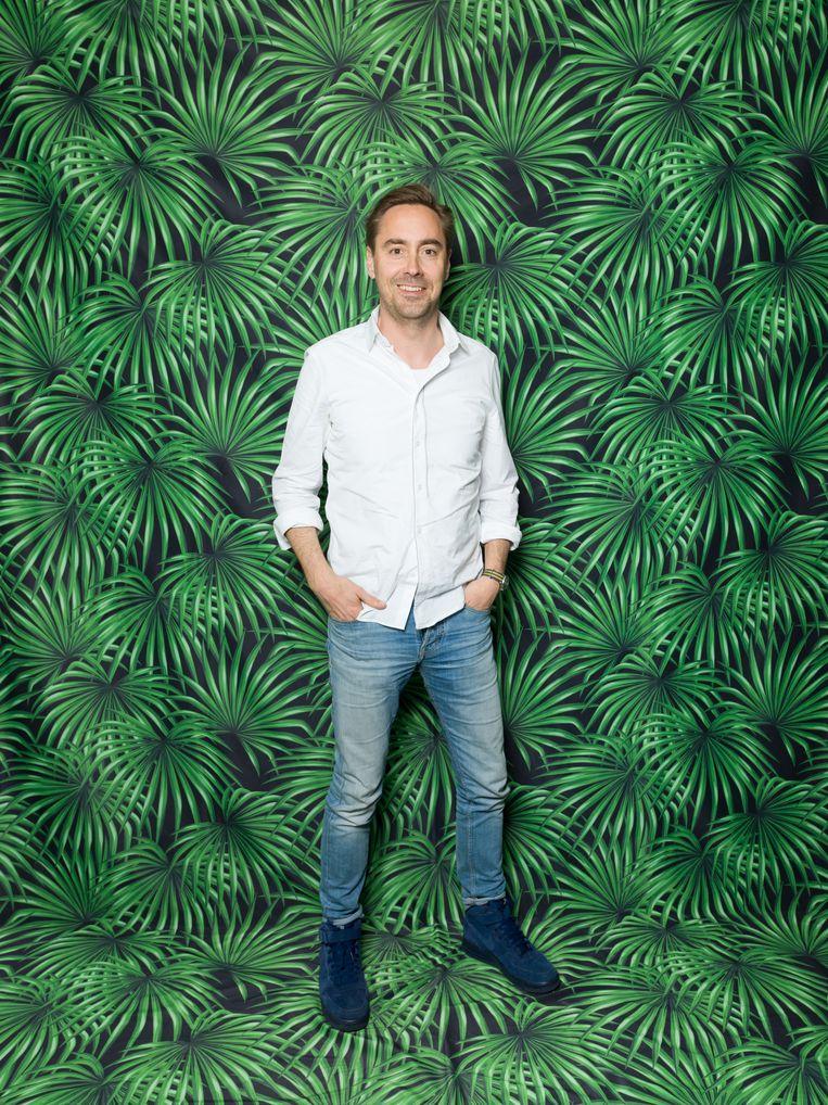 Ondernemer Marnix Geus helpt goede doelen met een ondernemersnetwerk, foto: Ivo van der Bent. Beeld Ivo van der Bent