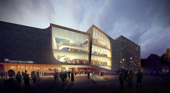 Het nieuwe ontwerp voor Theater aan de Parade van UNStudio.