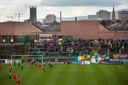 The Oval, het stadion van Glentoran.