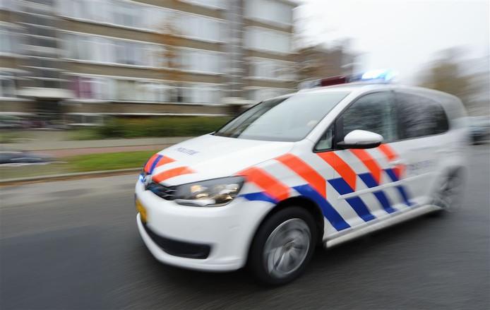 politie auto stock