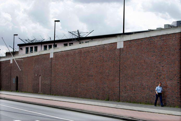 De Penitentiaire Inrichting Haaglanden in Scheveningen, beter bekend als het gevangenenziekenhuis.