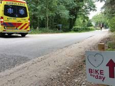 Wielrenner komt ten val tijdens Bike My Day in Heeswijk-Dinther