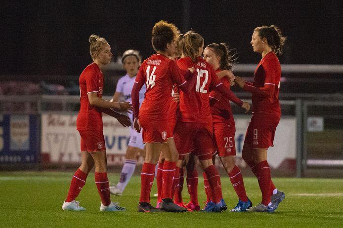 FC Twente is een van de teams in de eredivisie vrouwenvoetbal.