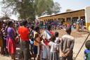 De school in Zambia.