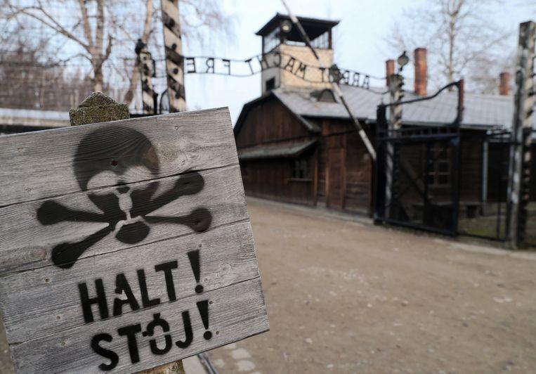 Een beeld van het concentratiekamp vandaag.