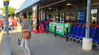 Carrefour blijft wellicht dicht door staking