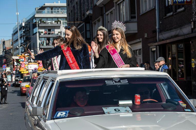 Ook de Batjesprinsessen waren present.