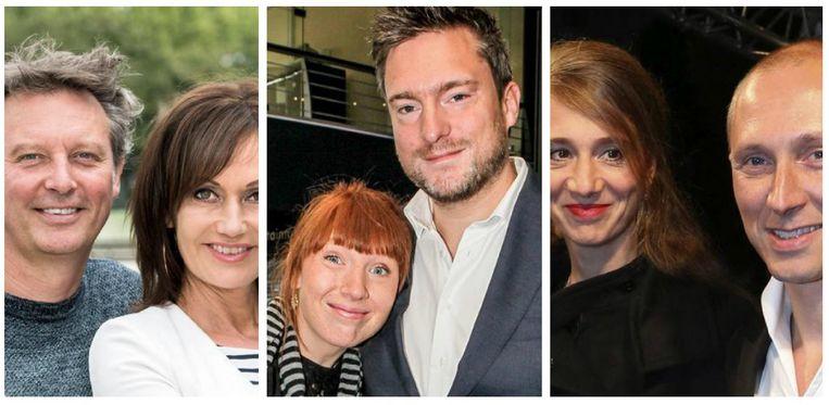 Chris Van Tongelen, Brigitte Berks, Linde Merckpoel, Gilles Van Bouwel,  Jelle Van Riet en Helmut Lotti