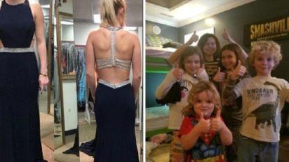Sydney stuurt foto's van haar nieuwe jurk naar verkeerde persoon. Zonder het te beseffen maakt ze zo het verschil voor zieke jongen met leukemie