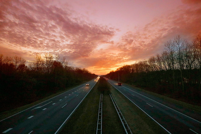 De A270 in Nuenen