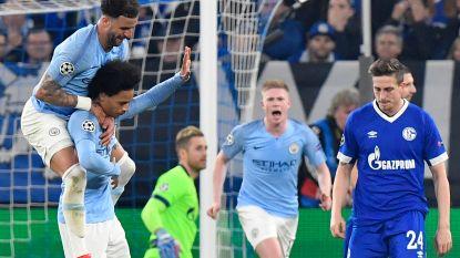 City vloert Schalke 04 na spektakelrijke match: Engelse kampioen stevende af op nederlaag, tot Sané zich ging moeien