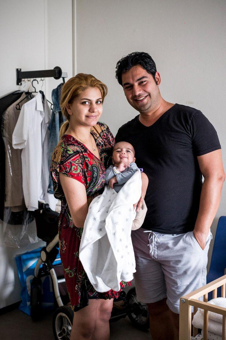 Roja (21) en Hossein (35) Beeld Rink Hof