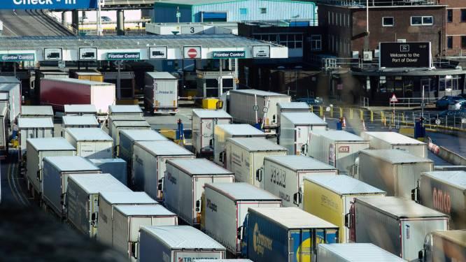 """""""Bijna helft van trucks keert zonder vracht terug uit Groot-Brittannië"""""""