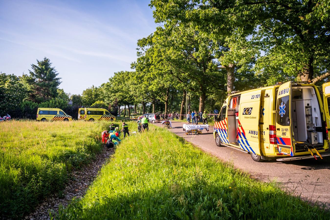 Aanrijding Eindhovenseweg Eindhoven